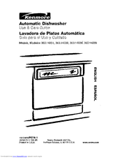 Kenmore 363.14032001 Manuals