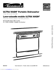 Kenmore ULTRA WASH 665.7445 Series Use & Care Manual (36