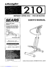 Sears Lifestyler ST210 Manuals