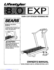 Sears Lifestyler 8.0 EXP Manuals