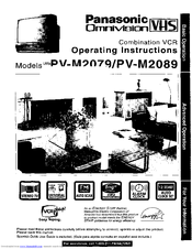 Panasonic Omnivision PV-M2079 Manuals