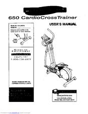 Proform 650 CardioCrossTrainer Manuals