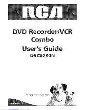 Rca DRC8295N Manuals