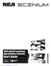 Rca Scenium HDLP50W151YX1 Manuals