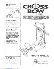 Weider CrossBow Platinum WESY78730 Manuals