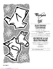 Whirlpool Duet WGD9400SW0 Manuals