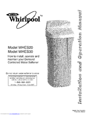 Whirlpool WHES30 Manuals