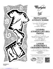 Whirlpool Duet WFW9200SQ00 Manuals