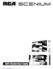 Rca SCENIUM D61W130YX1 Manuals
