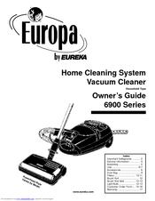 Eureka Europa 6900 Series Manuals