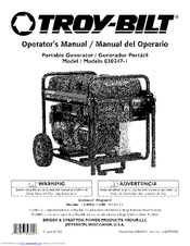 Troy-Bilt 030247-1 Operator's Manual (48 pages)