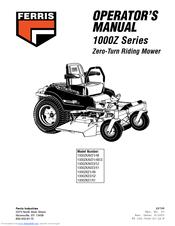 Ferris 1000ZKAV23/61 Manuals