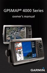 Garmin Gpsmap 4208  Marine Gps Receiver Manuals