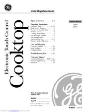Ge JP980 Manuals
