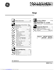 Ge JMP31WR Manuals