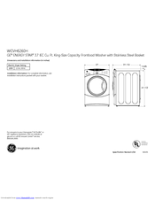 Ge WCVH6260HWW Manuals