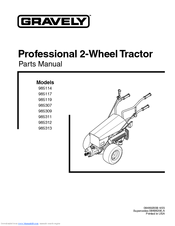 Gravely 985117 Manuals