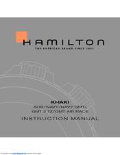Hamilton Khaki GMT Air Race Manuals