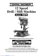 Harbor freight tools 42976 Manuals