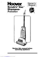 Hoover Shampoo- Polisher Manuals