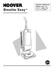 Hoover Breathe Easy Manuals