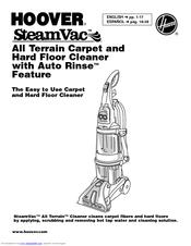 Hoover F7452 Manuals