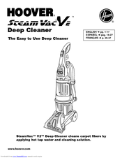 Hoover SteamVac V2 User Manual