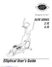 Horizon Fitness 4.1E Service Manuals