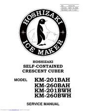 Hoshizaki KM-260BAH Manuals