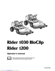 Husqvarna 1030 BioClip Manuals