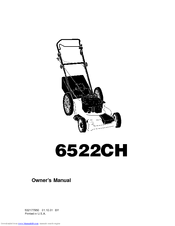 Husqvarna 6522CH Owner's Manual (20 pages)