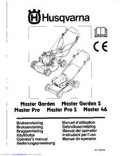 Husqvarna Master Pro Manuals