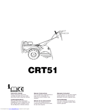 Husqvarna crt51 Manuals