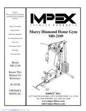 Impex MD-2109 Manuals