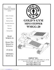 Impex WMGG-20 Manuals
