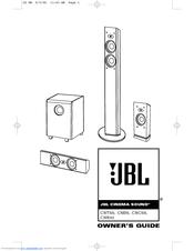 Jbl CSS10 Manuals