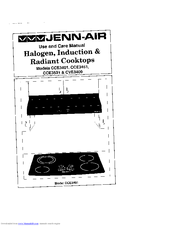 Jenn-air CVE3400 Manuals