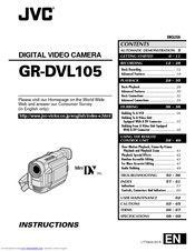 JVC GR-DVL105 User Manual (72 pages)