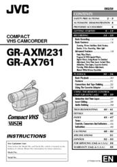 Jvc GR-AX761 Manuals
