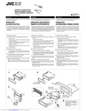 Jvc KD-LX3J Manuals