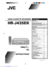 JVC HR-J435EK Instructions Manual (48 pages)