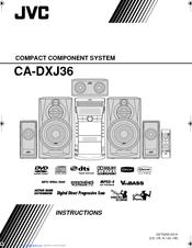 Jvc CA-DXJ11 Manuals