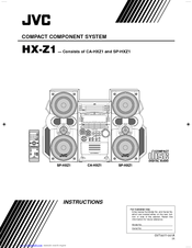 Jvc HX-Z1R Manuals