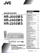 Jvc MAGNETOSCOPE HR-J460MS Manuals