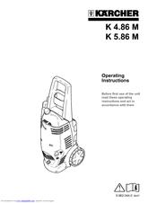 Karcher KARCHER K 5.85 M Manuals