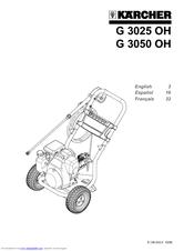 Karcher G 3050 OH Manuals