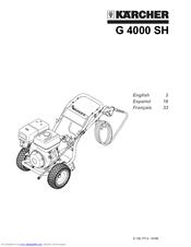 Karcher G 4000 SH Manuals
