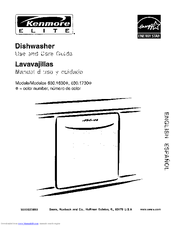 Kenmore 630.163 Manuals