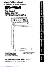 Kenmore 110.29882891 Manuals