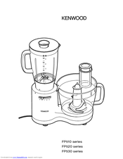 Kenwood FP520 series Owner's Manual (9 pages)